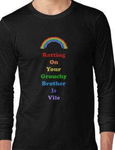 Colours of the Rainbow 7 - Ratting On... Long Sleeve T-Shirt