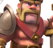 Barbarian king Sticker