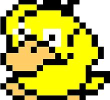 Pokemon 8-Bit Pixel Psyduck 054 by slr06002