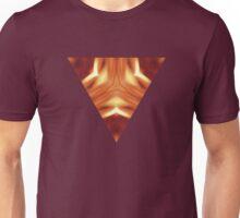 Triangle Target - Burning Unisex T-Shirt