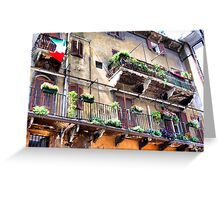 florence,balcony Greeting Card