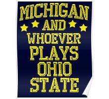 Michigan #1 Poster