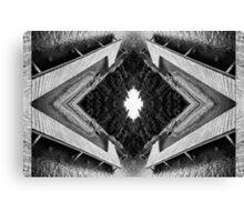 Zigzag Pier Illusion C Canvas Print
