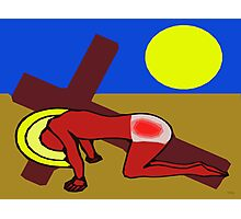 THE ROAD TO CALVARY Photographic Print