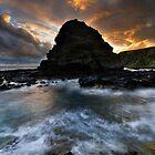 Peninsula Coast Sundown by Robert Mullner