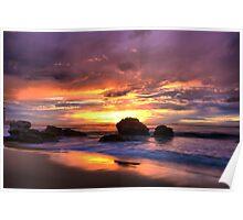 Redhead Beach Poster