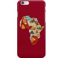 Simba's Journey iPhone Case/Skin