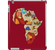 Simba's Journey iPad Case/Skin