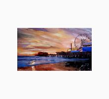 Santa Monica Pier at Sunset Unisex T-Shirt