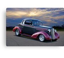 1936 Chevrolet Coupe Canvas Print