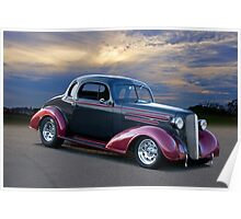 1936 Chevrolet Coupe Poster