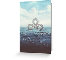 Cloud 9 Oceanic Time Warner Cable Greeting Card