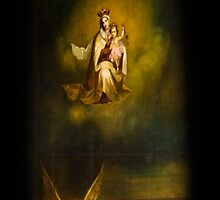 Heavenly Madonna and Child by Al Bourassa