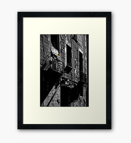 Windmill, Barcelona Framed Print