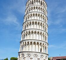 Leaning Tower of Pisa by ANDREW BARKE