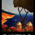 Ravello Salerno Italy View of Amalfi Coast from Villa Rufolo by artshop77