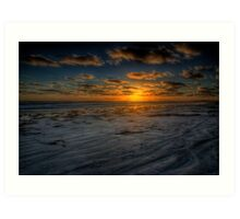 Sunset Glory Art Print