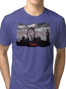 Black London Tri-blend T-Shirt