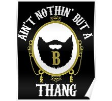Nothin' But A B Thang Poster