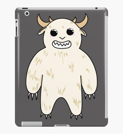 ADORABLE YETI iPad Case/Skin
