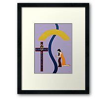 THE PRAYER 2 Framed Print