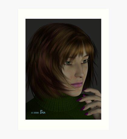 Introducing Tamara Art Print