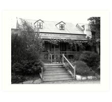 Settlers Cottage. Mintaro.  South Australia. Art Print