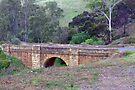 Sandstone bridge over Djerriwarra Creek by mspfoto