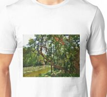 Trees & Water, Bonnett House, Fort Lauderdale Unisex T-Shirt