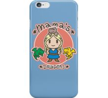 Mama´s Dragons iPhone Case/Skin