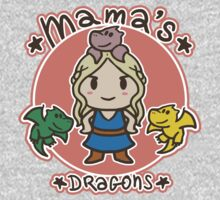Mama´s Dragons One Piece - Short Sleeve