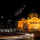 Flinders By Night by Mark Moskvitch