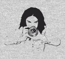 Girl photographer One Piece - Short Sleeve