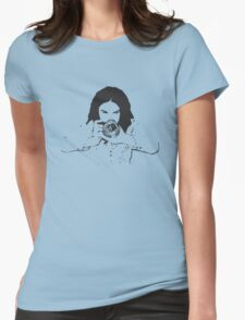 Girl photographer Womens Fitted T-Shirt
