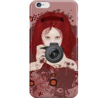 Girl photographer 2 iPhone Case/Skin