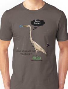 Damn Tourist ! with Tybee Island, Georgia logo Unisex T-Shirt