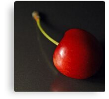 Cherry Red Canvas Print