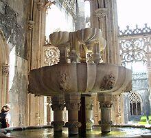 Mosteiro da Batalha, Claustro Real, Lavagem (Lavatory) by presbi