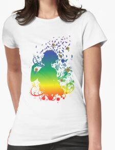 Girl with butterflies 2 T-Shirt