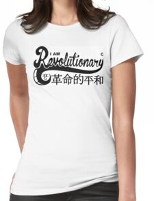 I Am Revolutionary Womens Fitted T-Shirt