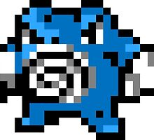 Pokemon 8-Bit Pixel Poliwrath 062 by slr06002