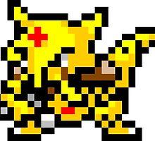 Pokemon 8-Bit Pixel Kadabra 064 by slr06002