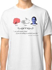 Rock, Paper...Obama Classic T-Shirt