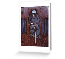 Grandad Cycling Greeting Card