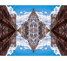 Sky street Photographic Print