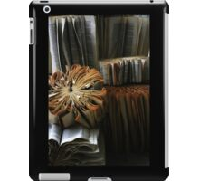 Ancient Library #1 Book Flowers iPad Case/Skin