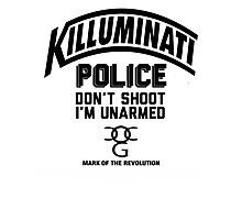 Police Dont Shoot Im Unarmed Photographic Print