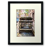 Old town mill Framed Print