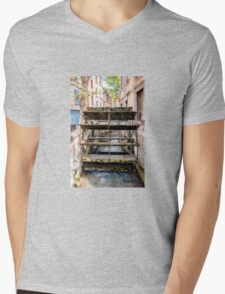 Old town mill Mens V-Neck T-Shirt