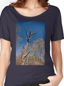 Old dead trunk decayed tree Women's Relaxed Fit T-Shirt